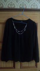 バルーン裾の黒服 新品未使用
