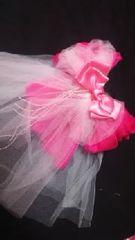 15・15 送込〓新品〓浴衣〓飾り〓(ドレスにも)ピンク系 小さめ
