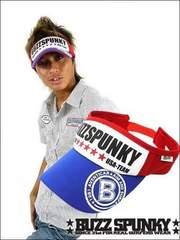BUZZSPUNKY(バズスパンキー)USA TEAM サンバイザー