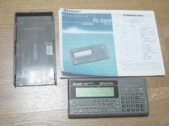 シャープ ポケットコンピューター PC-G820送料無料3