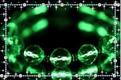 �B天然石キラキラトライアングルカット水晶光るブレスレット男女兼用17.5�p