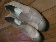 ラスカラ 本革靴 最高の履き心地 25.5 EEE 高級感 美品 送無5千円