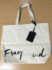 FRAY I.D/キャンバストートバッグWH