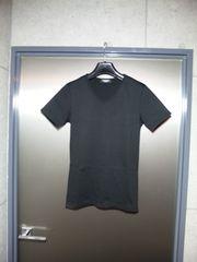 新品同〓トルネードマート〓極細タイト半袖カットソー〓黒