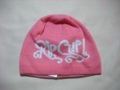 wb167 女 RIP CURL リップカール リバーシブル ニット帽