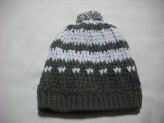 mb498 男 RIP CURL リップカール ボンボン付き ニット帽