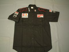 ★DUCATI★CORSE★ピットシャツ(XL)黒★