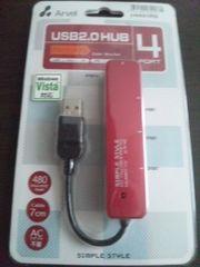������USB2.0HUB ���ܰ����4�߰� �ޯ̧۰�^��:H431RD