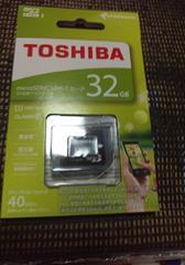 新品 マイクロSDカード 32GB 東芝製
