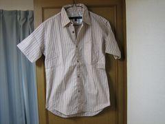 SCHLUSSEL 半袖ボタンシャツ M