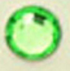 ● 3mm ● デコ用ストーン  2000粒 ライトグリーン
