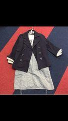 3can4onのジャケットとワンピースのセット
