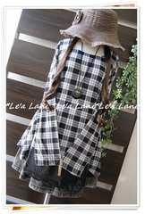 ◆新品◇3L◇春*裾シフォンレイヤー風チュニック♪大きいサイズ