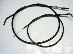 (2017)GPZ400F新品30cmロング黒ワイヤーセット