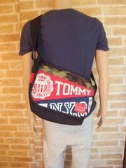 【希少Wネーム】TOMMY×マンハッタンポーテージショルダーバッグ迷彩♪トミー