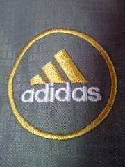 adidas アディダス サッカー 日韓 ワールドカップ ジャンパー ブルゾン グレー Lサイズ