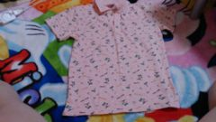新品☆ヤシ★襟つき半袖ポロシャツ☆メンズピンク