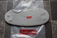 �o������ �D 15S/S Supreme No Show Sock Grey �\�b�N�X�C��Box