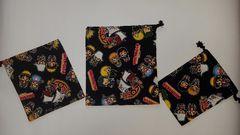 福袋 50K  ◆ ワンピース 巾着3枚set (^o^) ハンドメイド