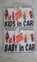 KIDS in CAR☆即決☆車に☆JAM BABYも