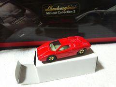 青箱  ランボルギーニ カウンタック LP400  赤