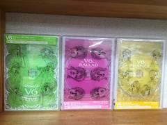 [DVD]V6 Very best LIVE-1995〜2004- & Film V6 act �W 全3枚