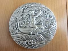 レア!1975沖縄国際海洋博覧会記純銀メダル