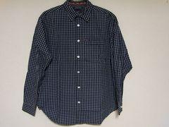 即決USA古着トミージーンズチェックデザインシャツ!アメカジトミーヒルフィガーレア