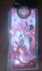 ディズニー・ミニーマウス クリーナー付携帯ストラップ(京都)