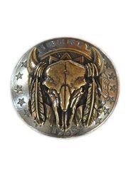 FUNNY ファニー Buffalo Skull コンチョ 31mm