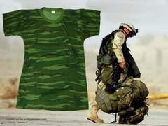 �V�i Army Camoflage �L�����t�� T�|�V���c AC-115