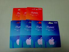 iTuneカード 15000円分