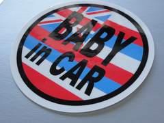 BABY in CARハワイ州旗バージョンステッカー!即買★赤ちゃん
