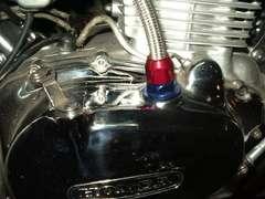 (604)CB400Tホーク�UメッシュブリーザのホースM2