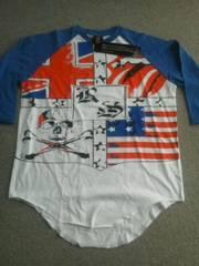 正規ブディストパンク×ローリングストーンズ新品初期のラグランTシャツ