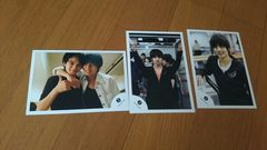 ジャニーズJr.羽生田挙武の写真3枚セット