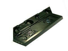 PS4冷却クーリングファン付コントローラー充電縦置きスタンド