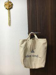 niko and...ロゴバック2way/送料込