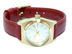 正規NIXON腕時計SMALLTIMETELLERゴールドブラウン