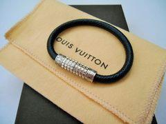 □LOUIS VUITTON / ルイヴィトン ブレスレット/バングル☆黒