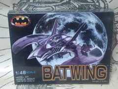 新品【ツクダ】バットマン『バットウイング』ビンテージプラモデル シュリンク未開封