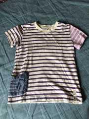 120センチ半袖Tシャツ!アシメTシャツ!