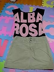 『ALBA ROSA』 ミニスカ★ベージュ