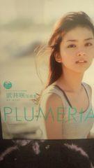 激安!超レア!☆武井咲/PLUMERIA☆写真集DVD付き!初版!☆美品!☆