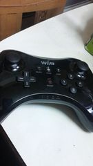 ニンテンドー WiiUコントローラー ブラック 送料無料