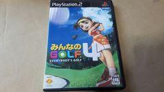 PS2☆みんなのGOLF4☆状態良い♪