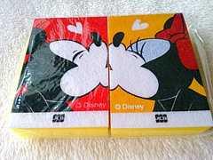 未使用 ディズニー ミッキー ミニー スポンジ ペア 2個セット キッチン用品