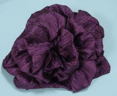 浴衣に♪結び方簡単くしゅふわ兵児帯へこ帯★子供ゆかた紫