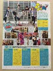 まいジャニ 関西Jr.◆月刊TVnavi 2016年1月号 切り抜き 1P