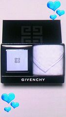 新品ジバンシィ/限定   ミラー&タオルセット/水色   Givenchy